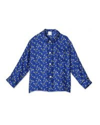 Trademark | Blue Niquet Pajama Top | Lyst