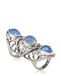 Stephen Webster | Blue Les Dents De La Mer Articulated Ring | Lyst