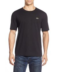 Lacoste | Black Sport Cotton T-shirt for Men | Lyst