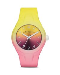 Marc By Marc Jacobs | Pink X-up Watch, 38mm | Lyst