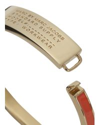Marc By Marc Jacobs - Standard Supply Orange Bracelet - Lyst