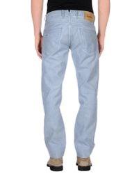 Incotex - Blue Denim Trousers for Men - Lyst