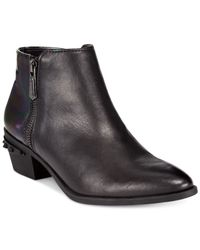 Circus by Sam Edelman | Black Holt Booties | Lyst