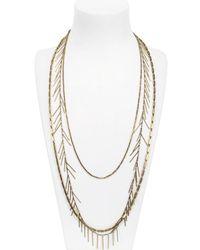 Isabel Marant Metallic Sautoir Necklace
