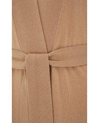 Temperley London - Natural Long Shaw Knit Cardigan - Lyst