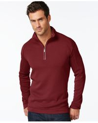 Tommy Bahama | Purple Halftime Long Sleeve Half-zip for Men | Lyst