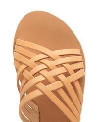 Ancient Greek Sandals - Brown Plekti Thais Leather Sandals - Lyst