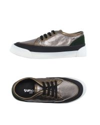 Suncoo - Metallic Low-tops & Trainers - Lyst