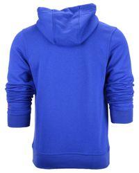 Nike Blue Men'S New England Patriots Club Rewind Hoodie for men