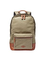 Fossil | Green Estate Backpack for Men | Lyst