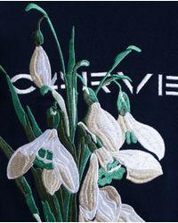 Carven Blue Snowdrop Sweatshirt for men