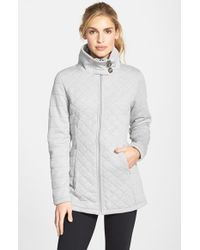 The North Face Gray 'caroluna' Fleece Jacket