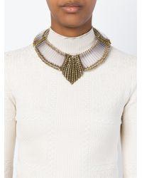 Sveva Collection | Metallic 'margot' Necklace | Lyst