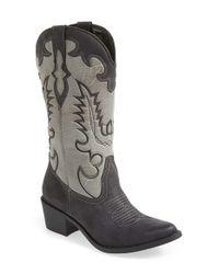 Matisse Black 'Desperado' Western Boot