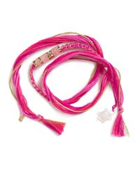 Aurelie Bidermann - Pink 'takayama Quartz' Bracelet - Lyst