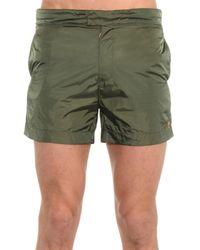 Tomas Maier - Green Lightweight Swim Shorts for Men - Lyst