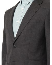 Burberry Gray Millbank Two-Button Wool Suit for men