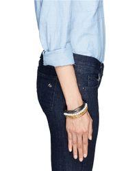 Iosselliani | Metallic Multi Chain Pearl Bracelet | Lyst