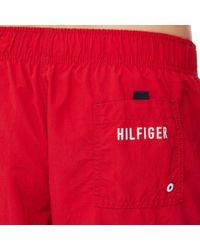 Tommy Hilfiger Red Swim Shorts for men