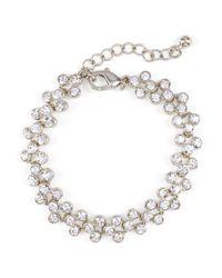 Phase Eight - Metallic Aideen Crystal Bracelet - Lyst