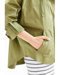 BDG | Green Snap-front Poncho Jacket | Lyst