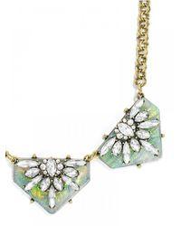 BaubleBar | Metallic Crystal Prism Collar | Lyst