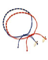 Astley Clarke | Orange Little Wonders Girl Skinny Bracelet | Lyst