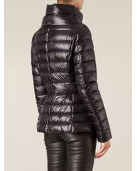 Herno - Black Padded Jacket - Lyst