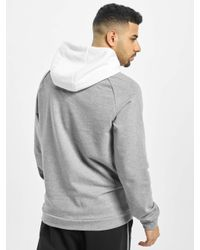 Nike Männer Hoody Jumpman Classics LTWT Fleece in Gray für Herren
