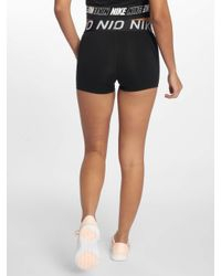 Nike Black Frauen Shorts Pro