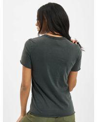 ONLY Black Frauen T-Shirt onlLucy Regular Road
