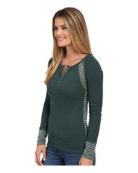 Lucky Brand | Green Swit Mixed Thremal | Lyst