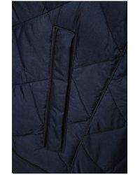 BOSS Orange Blue Iridescent Quilted Jacket: 'oprato' for men