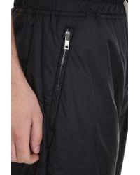 Rick Owens Track Pants Pants In Black Polyamide for men