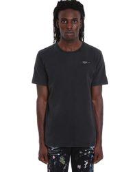T-Shirt Abstract Arrows in Cotone Nero di Off-White c/o Virgil Abloh in Black da Uomo