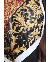 Pantalone in Poliestere Nera di Versace in Black da Uomo