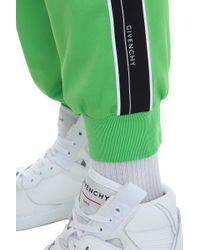 Pantalone in Poliestere Verde di Givenchy in Green da Uomo
