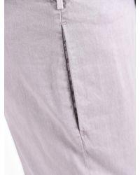 Dell'Oglio - Multicolor Linen And Cotton Trousers for Men - Lyst