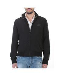 Burberry - Bradford Black Nylon Jacket for Men - Lyst