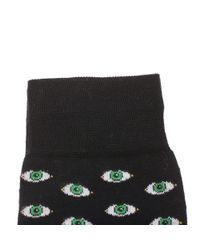 Fefe | Black Eyes Print Cotton Socks for Men | Lyst
