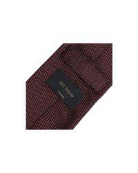 Dell'Oglio | Red Silk Tie for Men | Lyst
