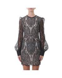 Alexander McQueen - Black Lace Dress - Lyst