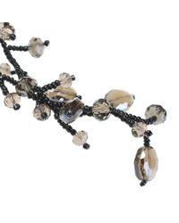 Night Market - Black Ramepe Necklace - Lyst