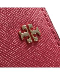 Tory Burch | Pink Leather Cardholder | Lyst