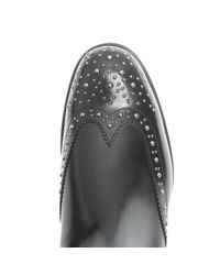 Church's - Black Ketsby Stud-embellished Leather Ankle Boots - Lyst