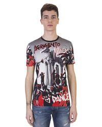 Dolce & Gabbana | Multicolor Agrigento Print Greu Cotton T-shirt for Men | Lyst