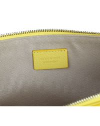 Givenchy - Yellow Leather Antigona Large Clutch - Lyst
