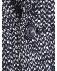 Dell'Oglio - Multicolor Cappotto Di Misto Lana for Men - Lyst