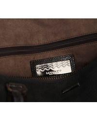 Zanellato Black Leather Rockfeller M Jones Bag for men