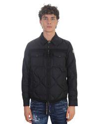 5922b1992 Lyst - Moncler Stephan Padded Nylon Jacket in Black for Men